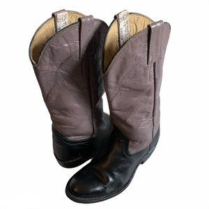 Winchester Leather Cowboy Western Boots 5